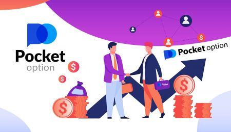 Cómo unirse al Programa de afiliados y convertirse en socio de Pocket Option