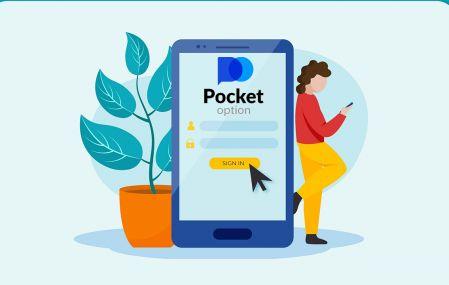 Cómo registrarse e iniciar sesión en una cuenta en Pocket Option Broker Trading